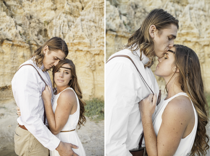 Shaun and Skyla Walton Wedding Photography - California Beach Love Shoot - 11
