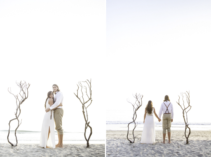 Shaun and Skyla Walton Wedding Photography - California Beach Love Shoot - 12