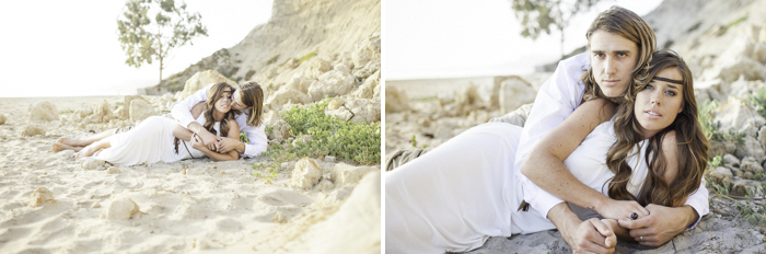 Shaun and Skyla Walton Wedding Photography - California Beach Love Shoot - 4