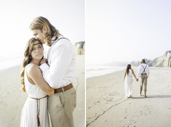 Shaun and Skyla Walton Wedding Photography - California Beach Love Shoot - 6