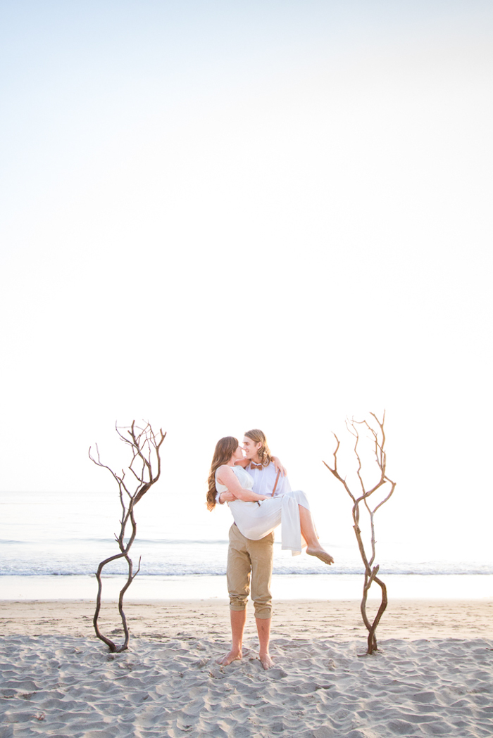 Shaun and Skyla Walton Wedding Photography - California Beach Love Shoot _-40