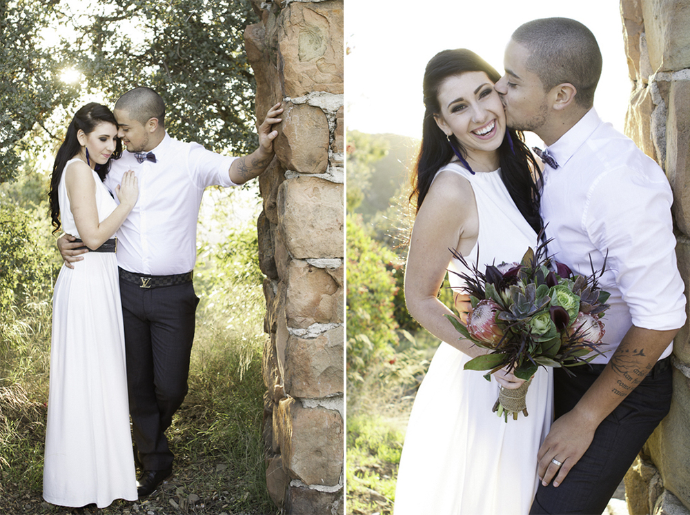 hiring your wedding photographer- rustic hipster santa barbara wedding - knapps castle