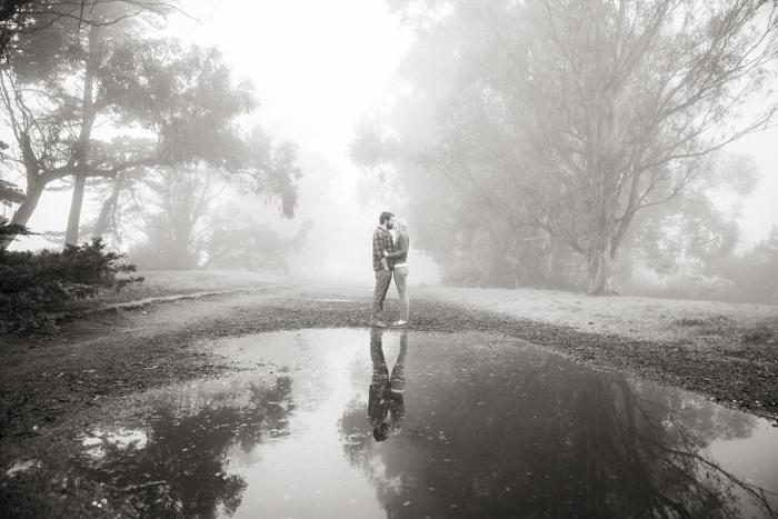 rustic engagment session - douglas preserve - santa barbara california