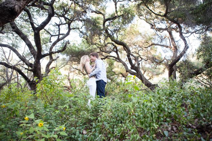 elegant outdoor engagment session - santa barbara california-3-2