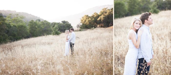 elegant outdoor engagment session - santa barbara california - 3