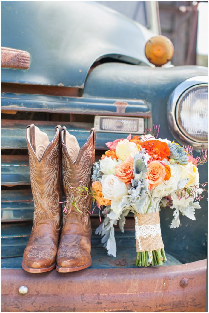 cowboy wedding boots