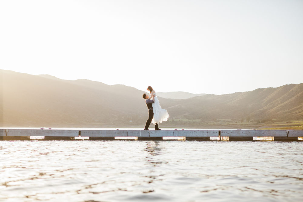 Lake Casitas Wedding photo by San Luis Obispo Wedding Photographer Skyla Walton