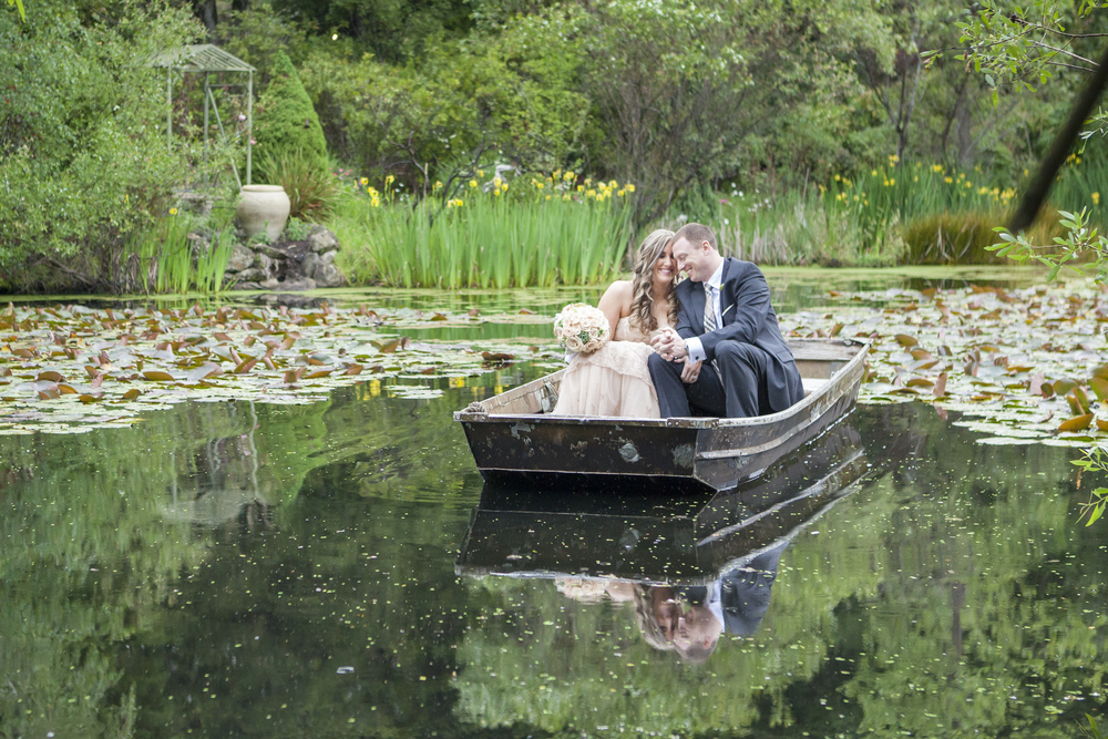 hans fahden lake wedding photo