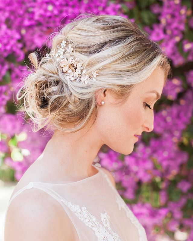 The dreamiest #bridalstyle ever