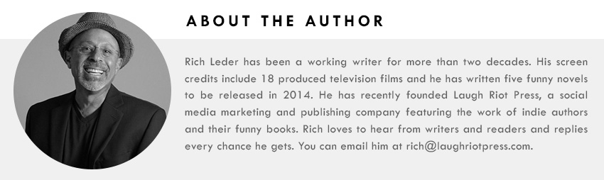 CONNECT WITH RICH :GOODREADS|EMAIL|BLOG