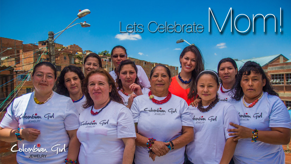 A picture of our team of women artisans in Bogota, Colombia during the spring of 2015.