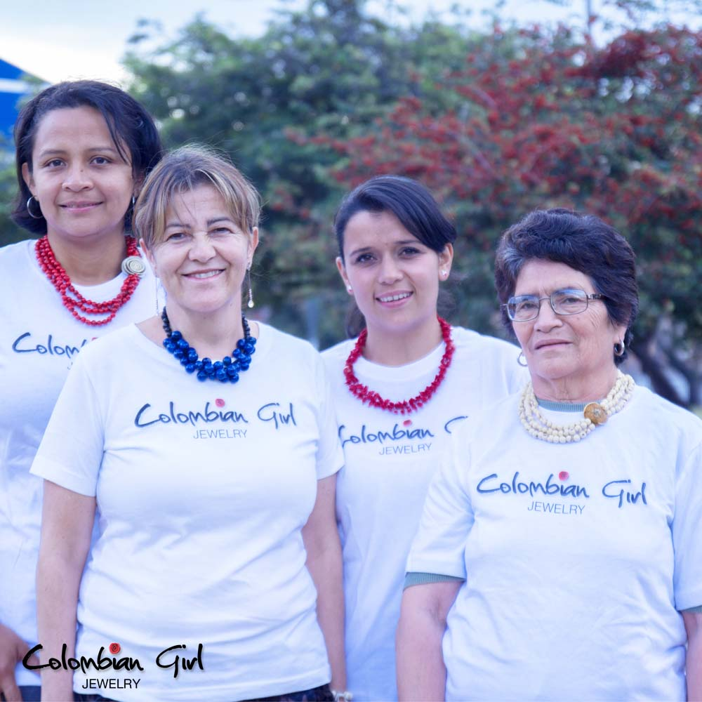 Meet Janiris, Martha, Judy, and Nina, our newest Colombian women artisans!