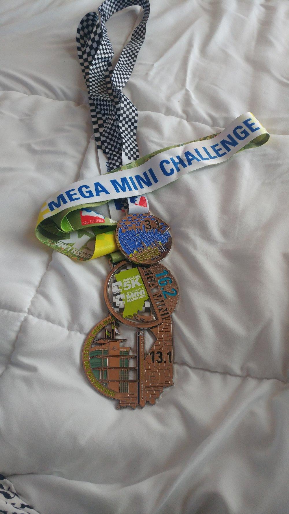 5K, Half & Challenge Metals