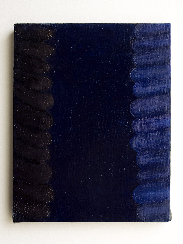 untitled (gold blue feelers)