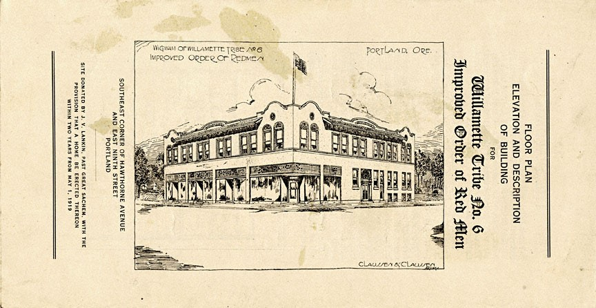 archival historic drawing