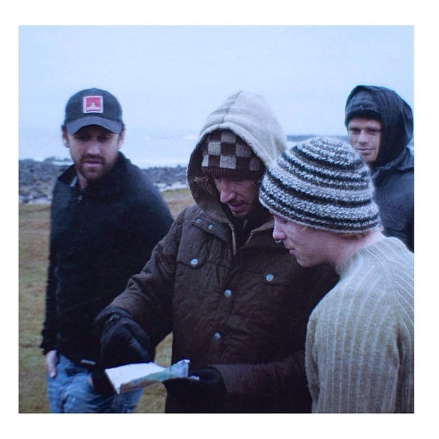 BTS in Iceland for CASTLES IN SKY
