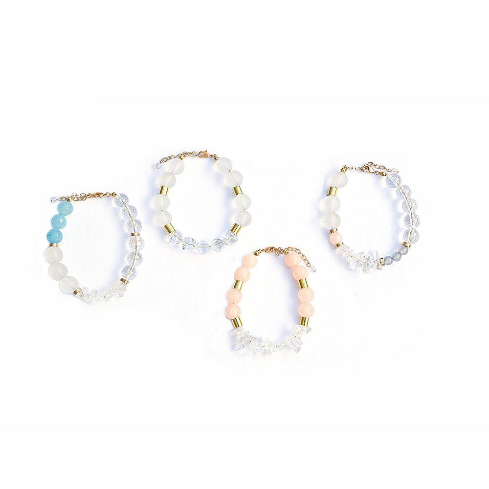 Meiresthai+Design+Quartz+Peach+Blue+bracelets+handmade+in+Toronto.jpg