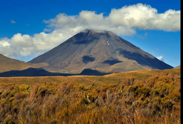 Mount Ngauruhoe, New Zealand