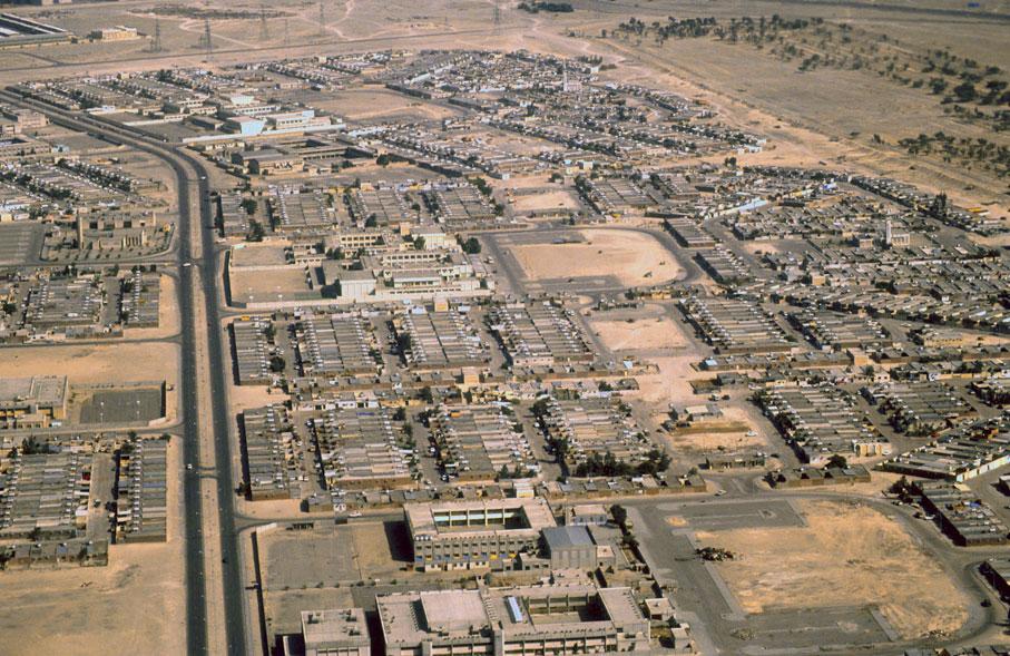 Desert town, Kuwait