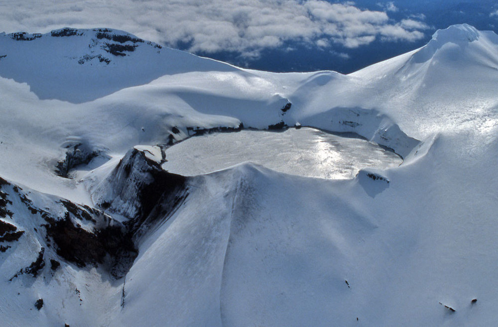 Crater lake, Mt Ruapehu, New Zealand
