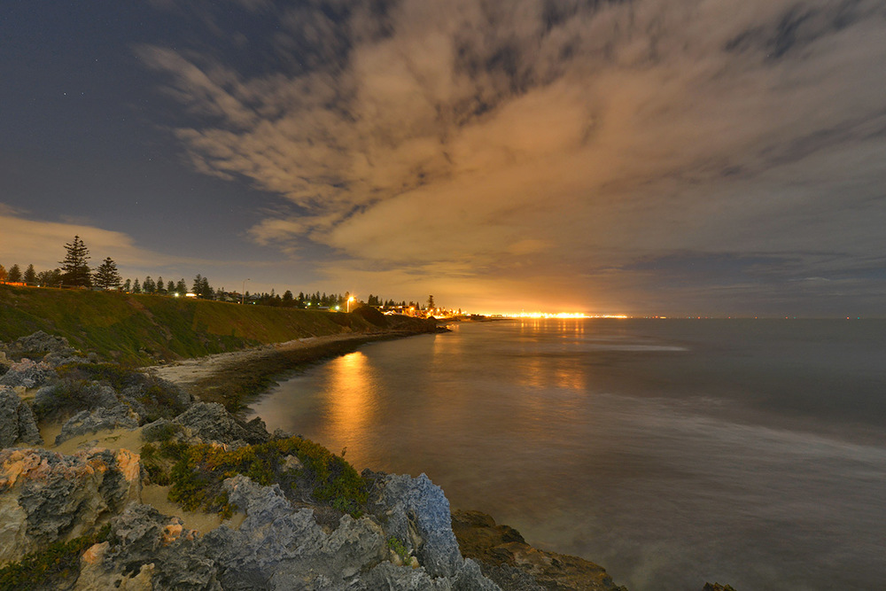 Looking towards Fremantle
