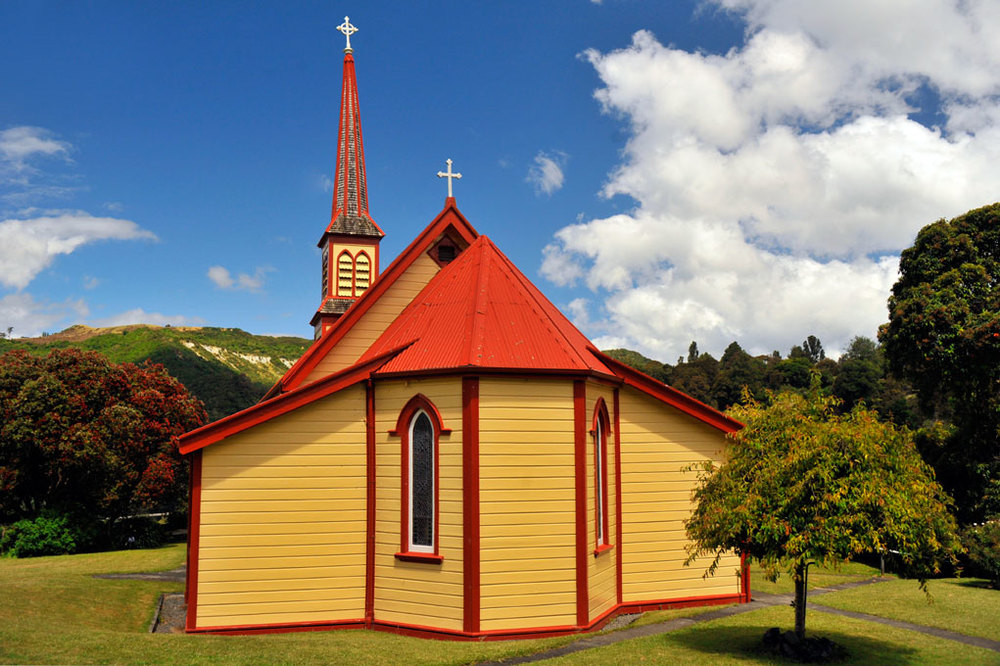 Church at Jerusalem on the Whanganui river