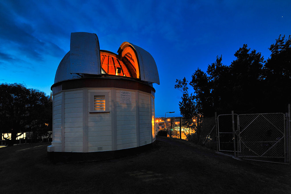 The Ward Observatory, Whanganui
