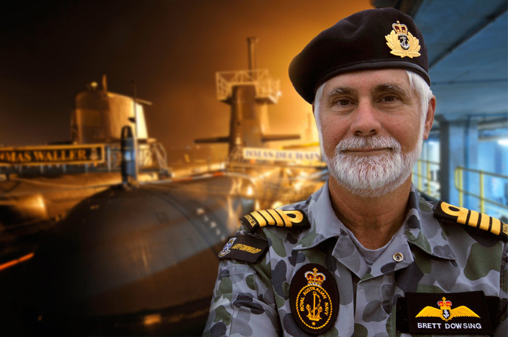 Commodore Brett Dowsing, HMAS Stirling