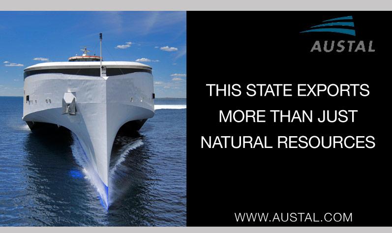 Austal ships press ad