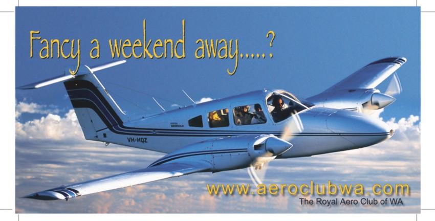 Royal Aero Club of WA billboard