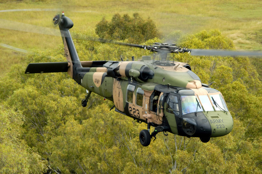 Australian Army Blackhawk, RAAF Amberley.