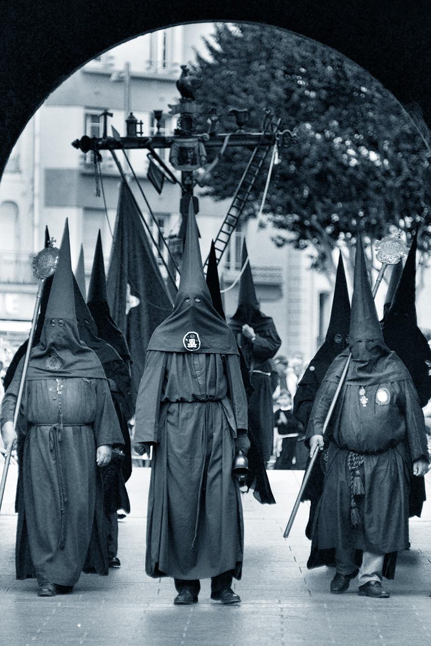 The annual Sanche processionl in Perpignan