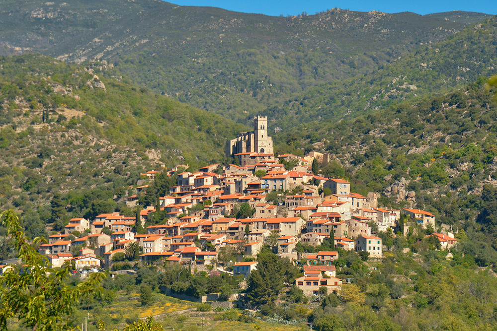 The village of Eus, off the N116 to Andorra