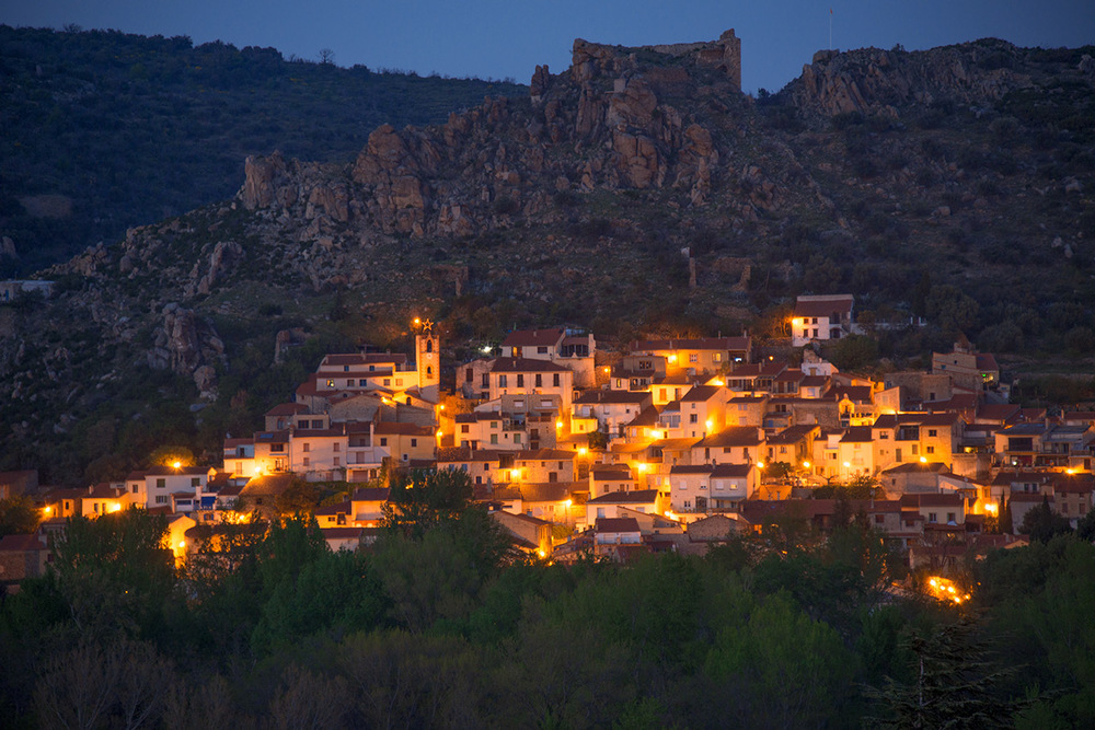 The village of Rodes, off the N116 to Andorra