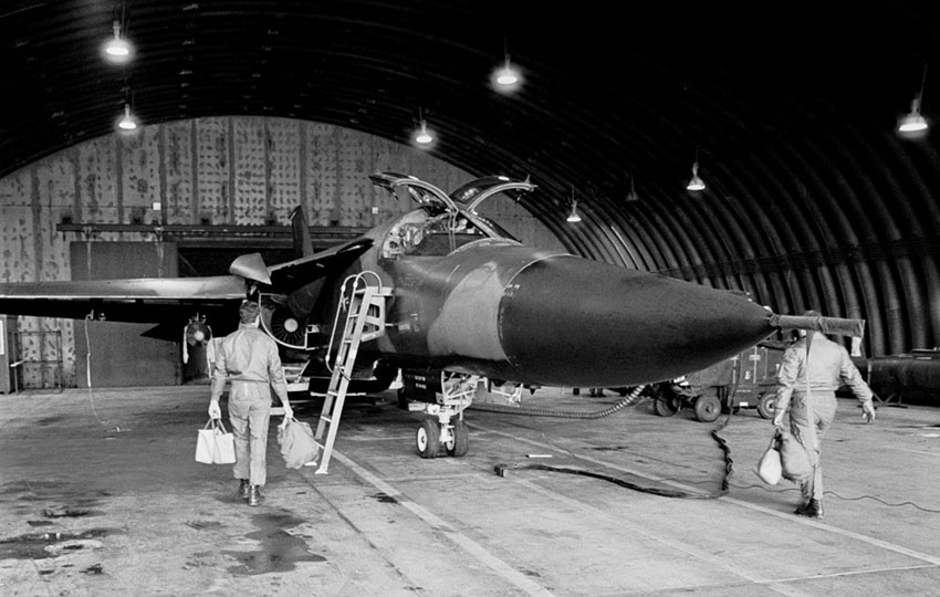 General Dynamics F-111A at RAF Upper Heyford, 1990