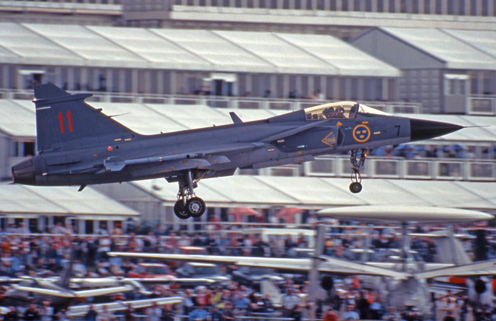 SAAB Grippen, Farnborough