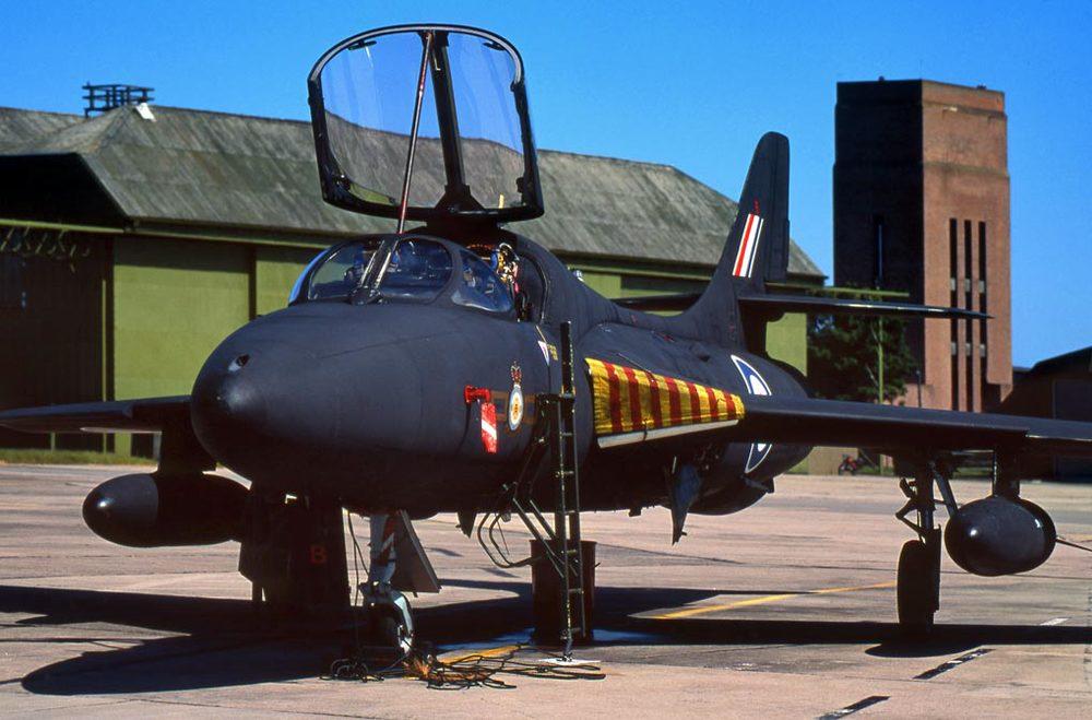 RAF Hawker Hunter, RAF Lossiemouth
