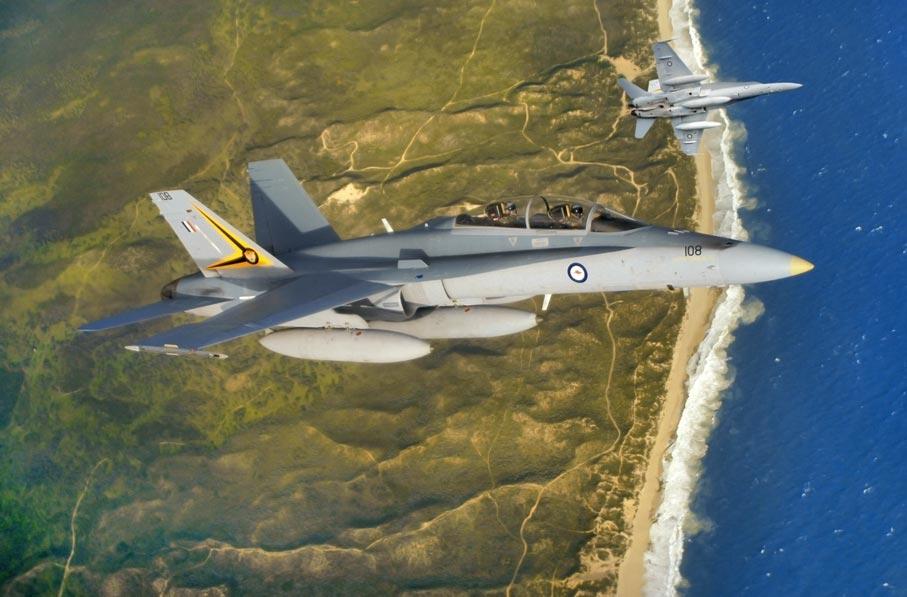 RAAF F/A.18 Hornets