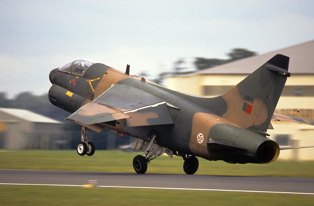 PAF LTV A7 Corsair II