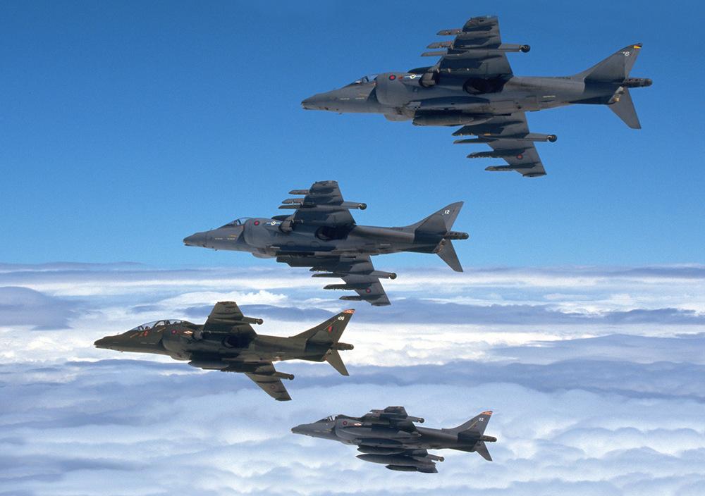 BAE Harrier GR.5's