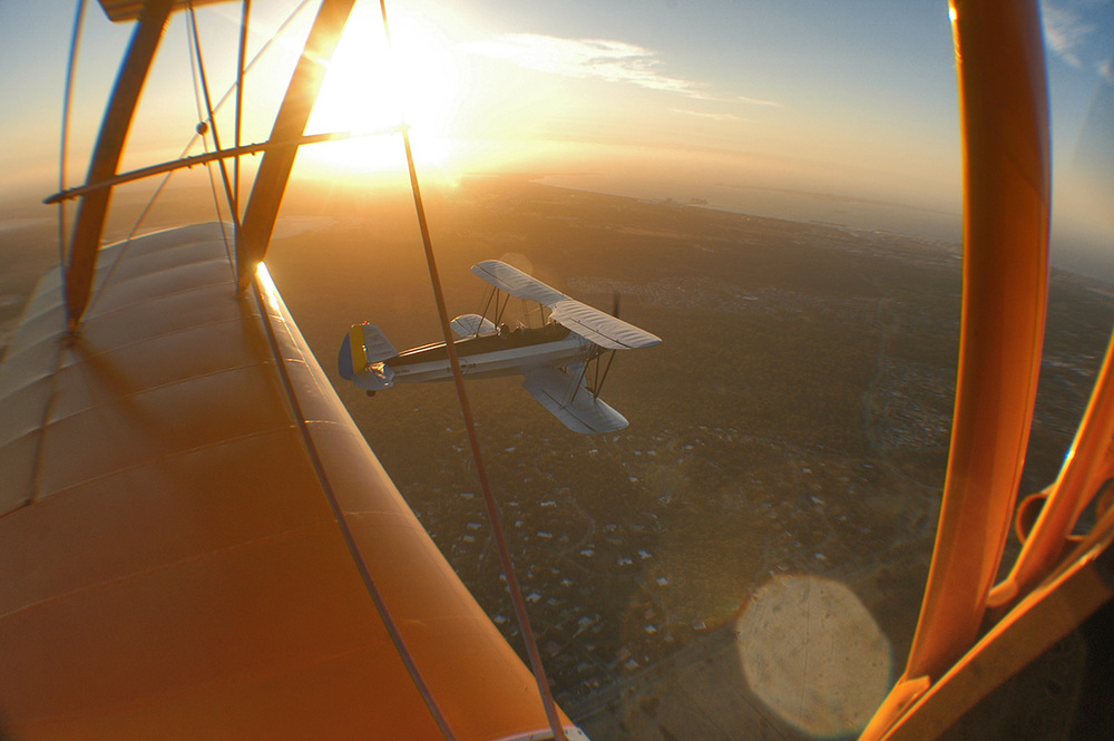 My point of view from the Tiger Moth