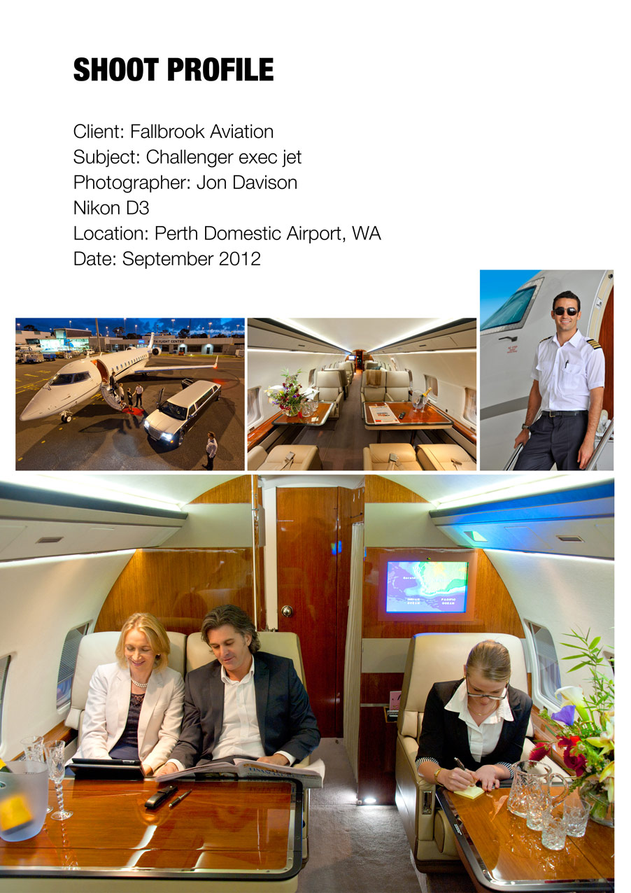 Bombardier Challenger - interiors