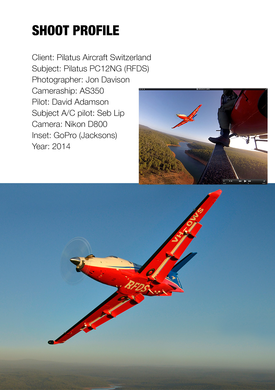 Pilatus PC12 - Dwellingup, Western Australia