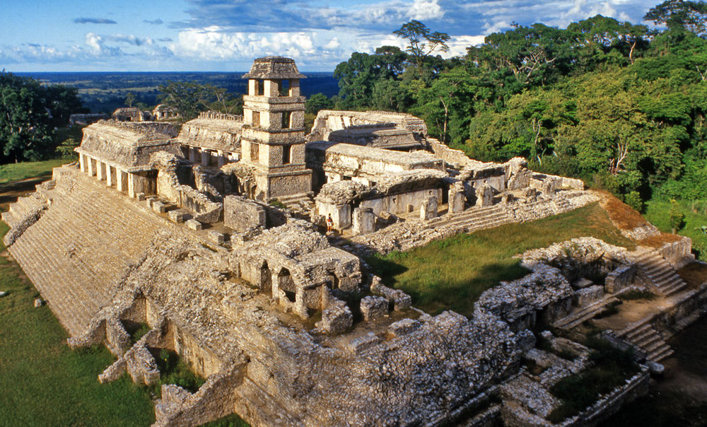 The Palace, Palenque, Chiapas State, Mexico