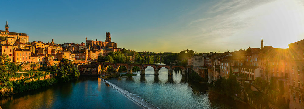 Pont Vieux and the River Tarn, Albi