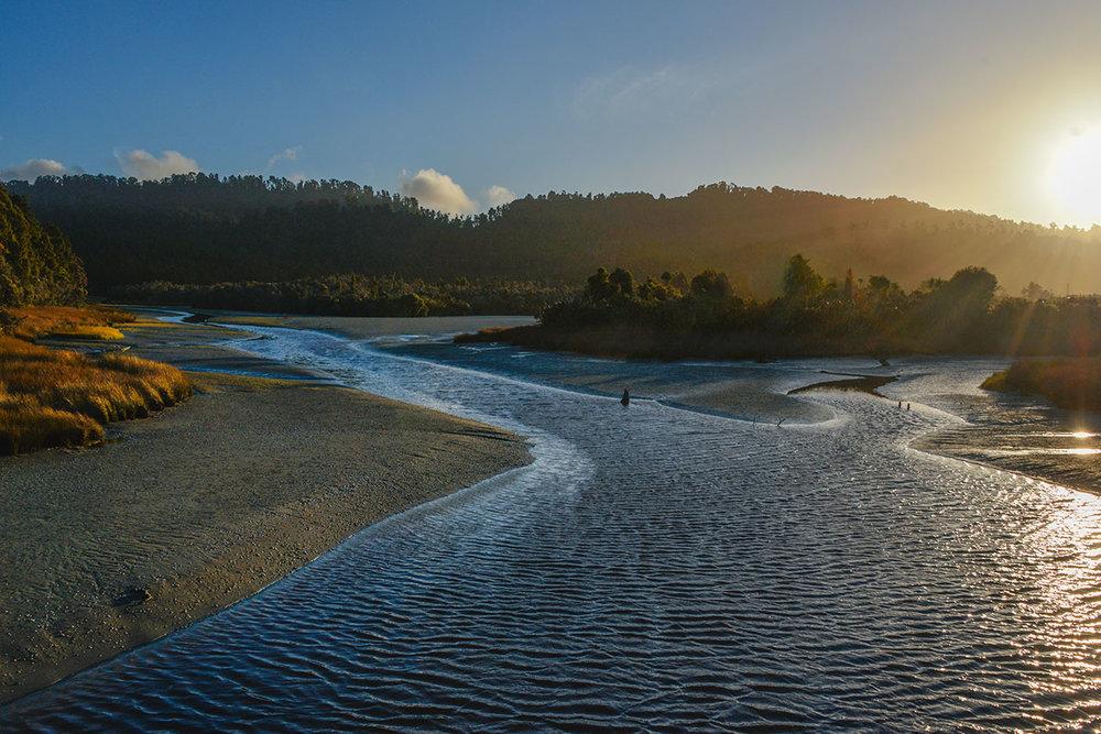 Okarito River, Okarito
