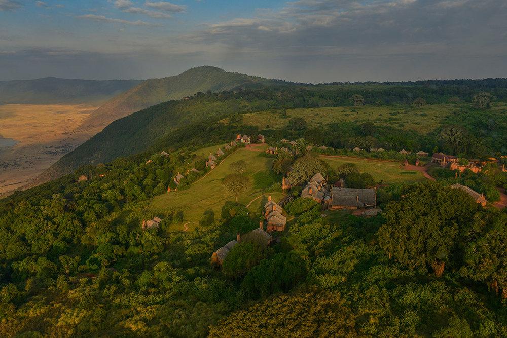 Ngorongoro crater lodge, Tanzania