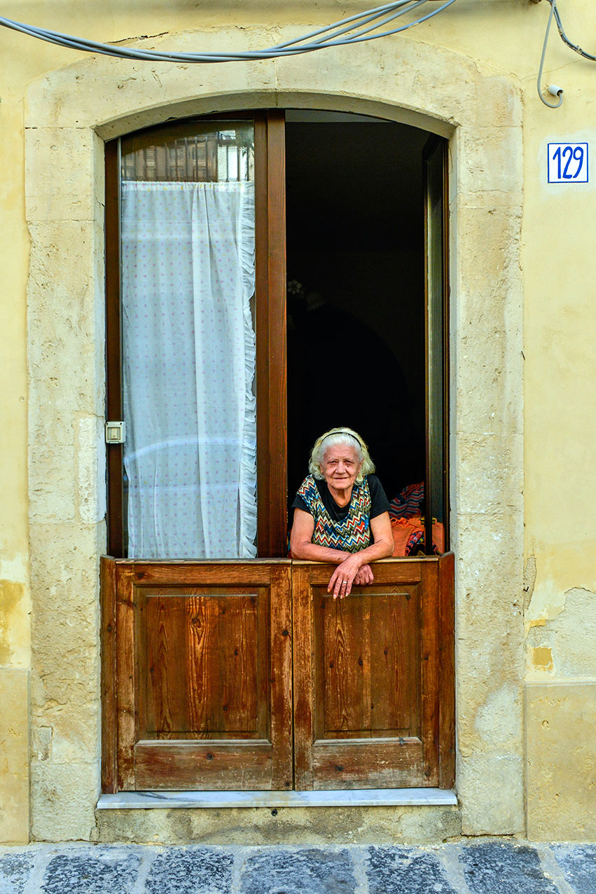Local in Syracusa, Sicily