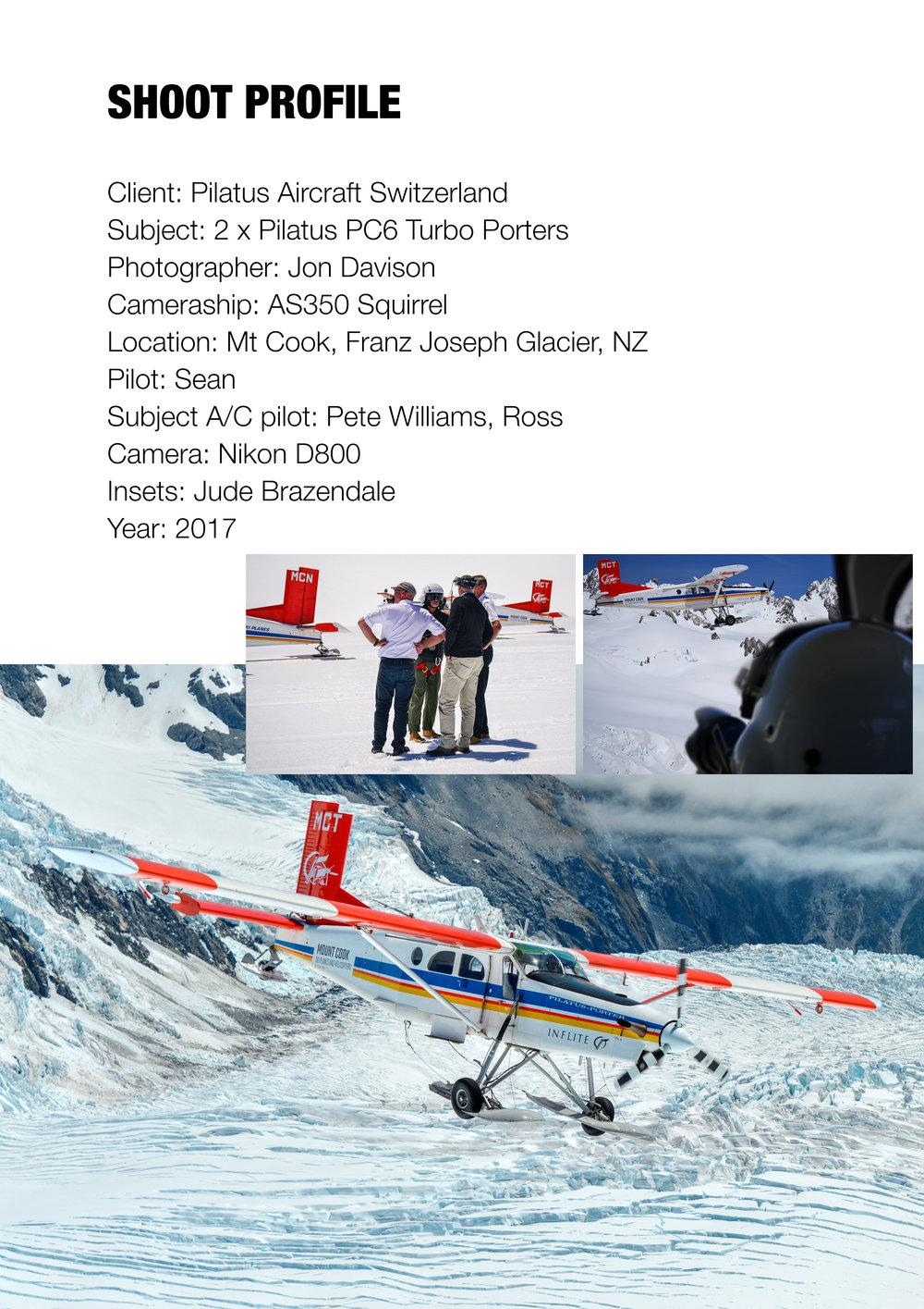 Pilatus PC6, Franz Joseph Glacier, New Zealand