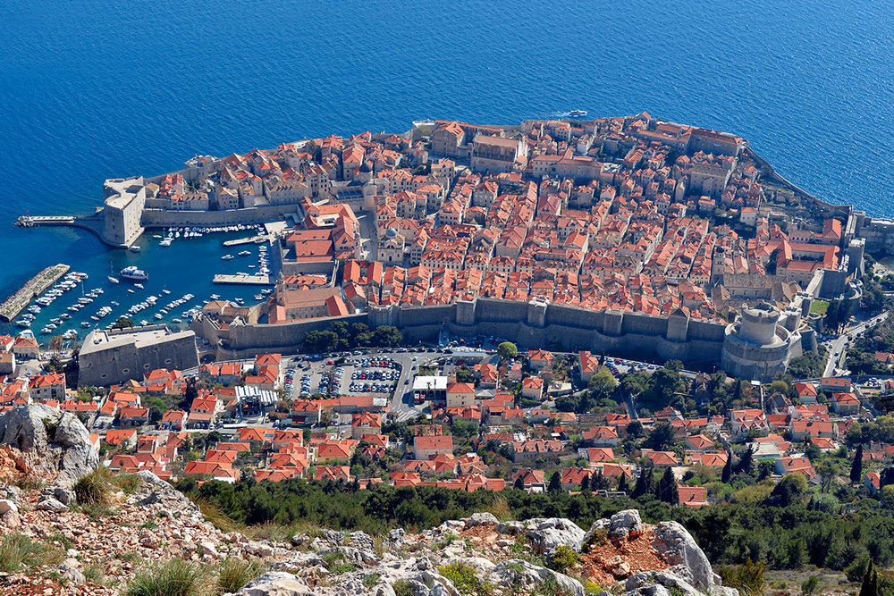 Dubrovnik from Fort Imperial